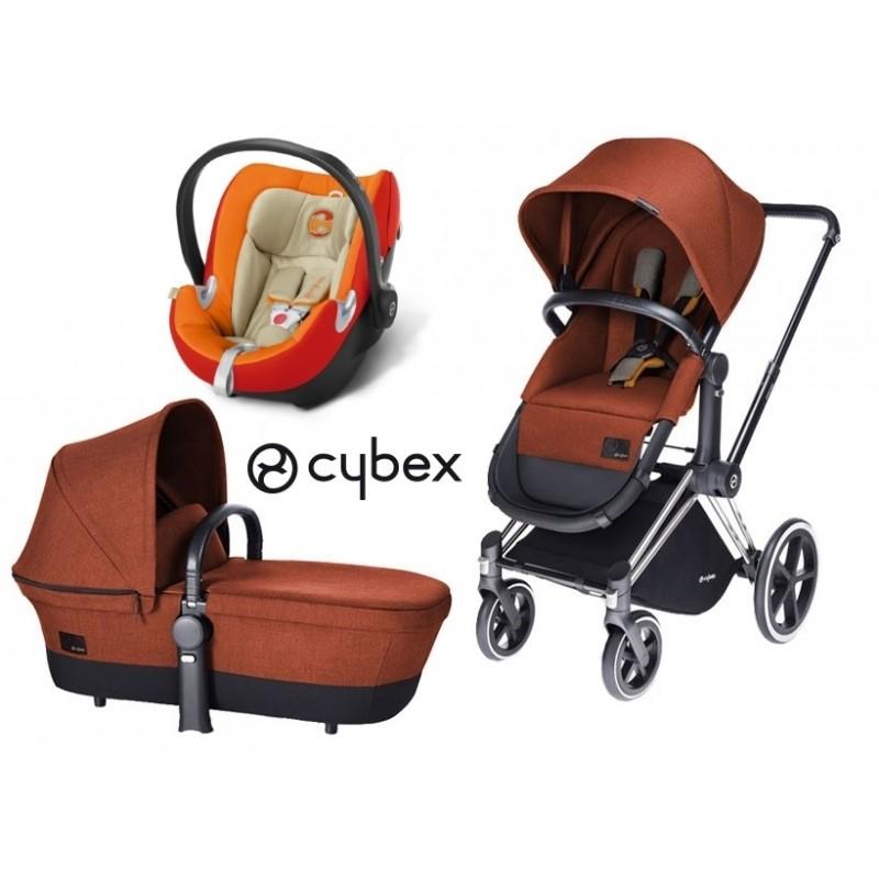 cybex platinum trio priam lux light aton q mondo bimbo. Black Bedroom Furniture Sets. Home Design Ideas