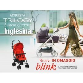 Inglesina Trio Trilogy - Sistema Quattro - Village Denim