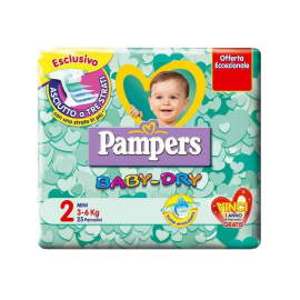 Pannolini Pampers Baby-Dry