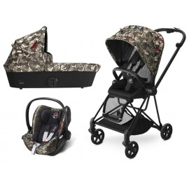 Cybex - Trio Platinum Mios Fashion Collection Butterfly